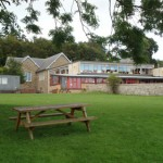 Playground at the back of the school