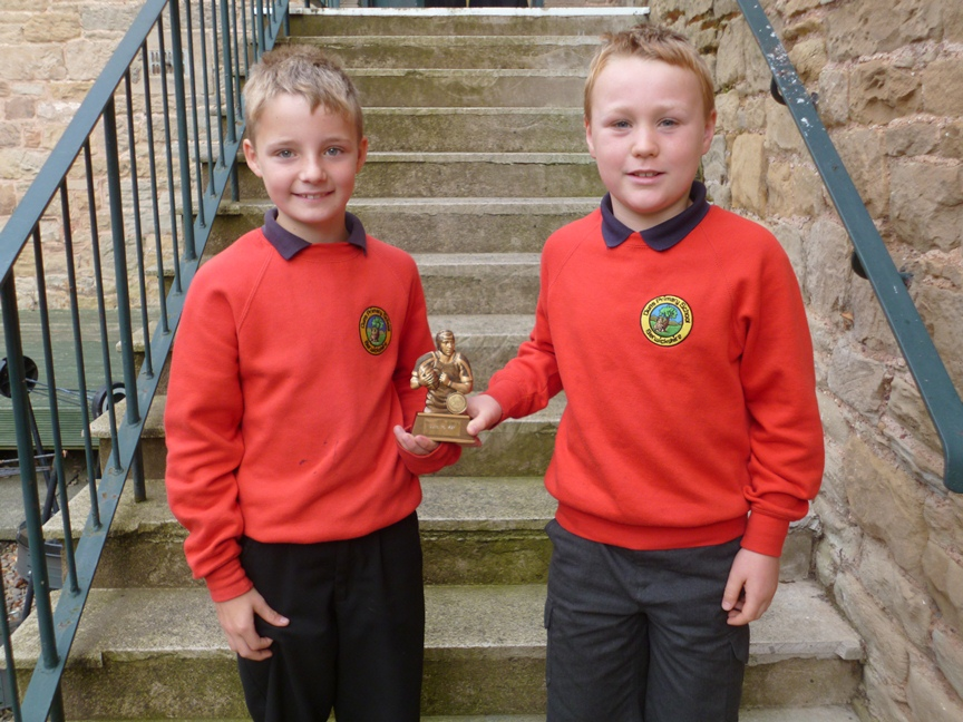 "Harry and Luke have both been awarded ""Most Valuable Player"" for Duns Juniors Rugby Club in the last two weeks."